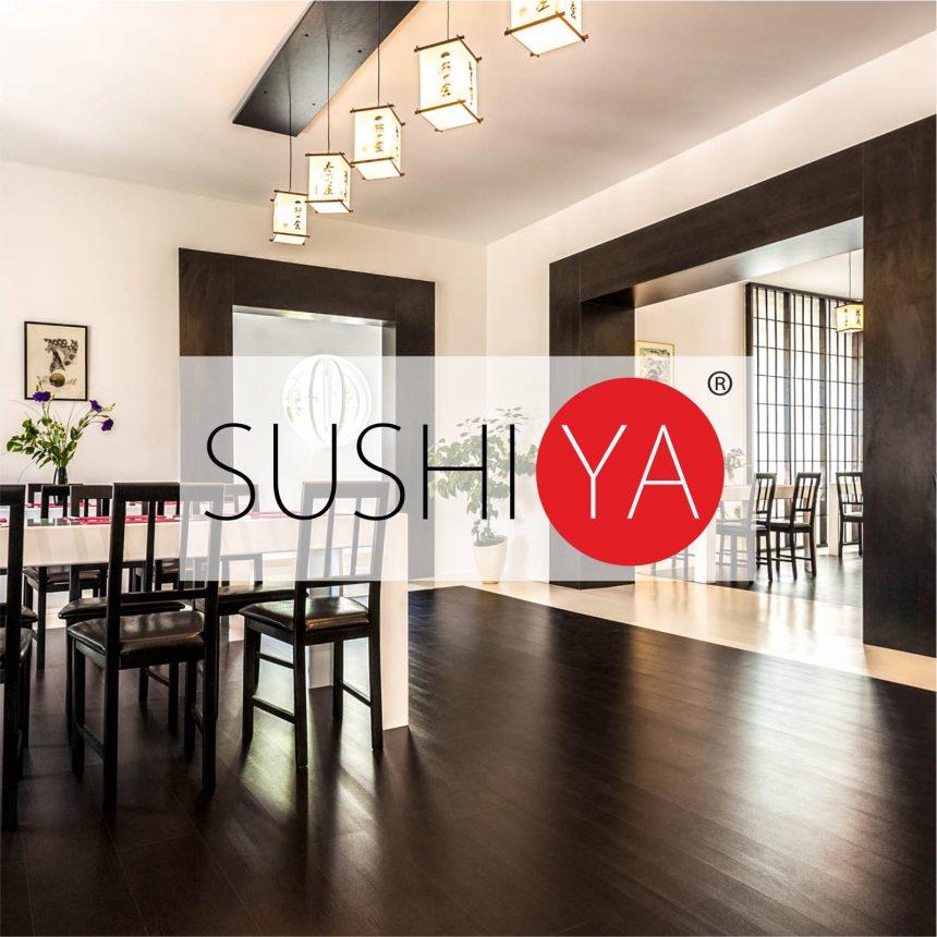 O-ZEN Design Portfolio Sushi Ya Restaurant dargestellt durch Innendesign und Maßarbeit Inneneinrichtung