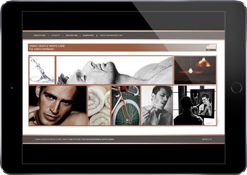 O-ZEN Portfolio Kettner Konzept Tablet App