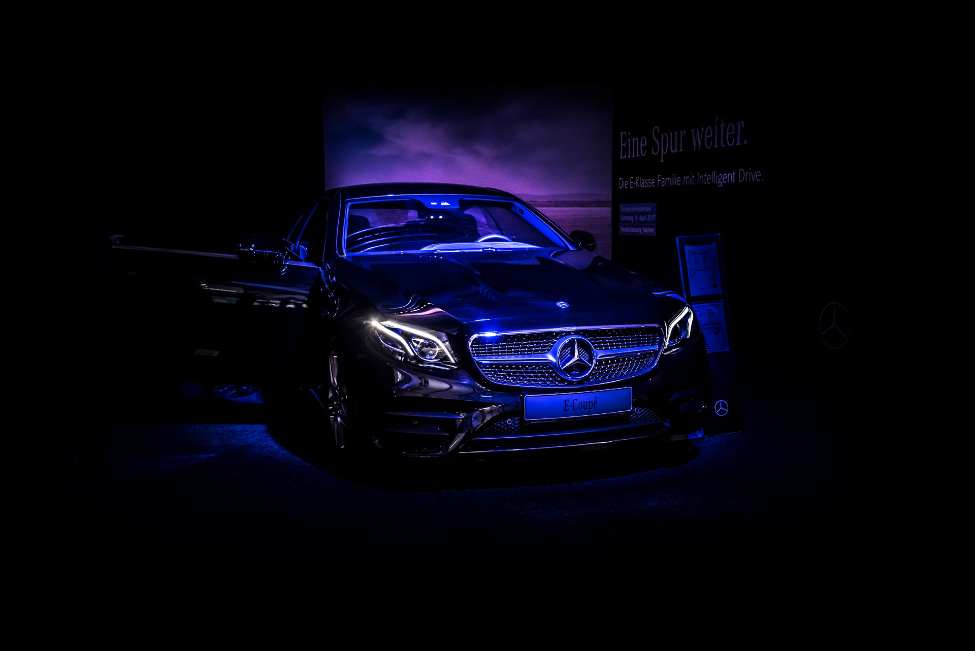 O-ZEN Portfolio Fotografie Präsentierung Mercedes E-Coupe 2017