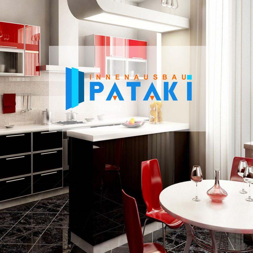 O-ZEN Portfolio Pataki Bau Design Einrichtung Küche mit Logo