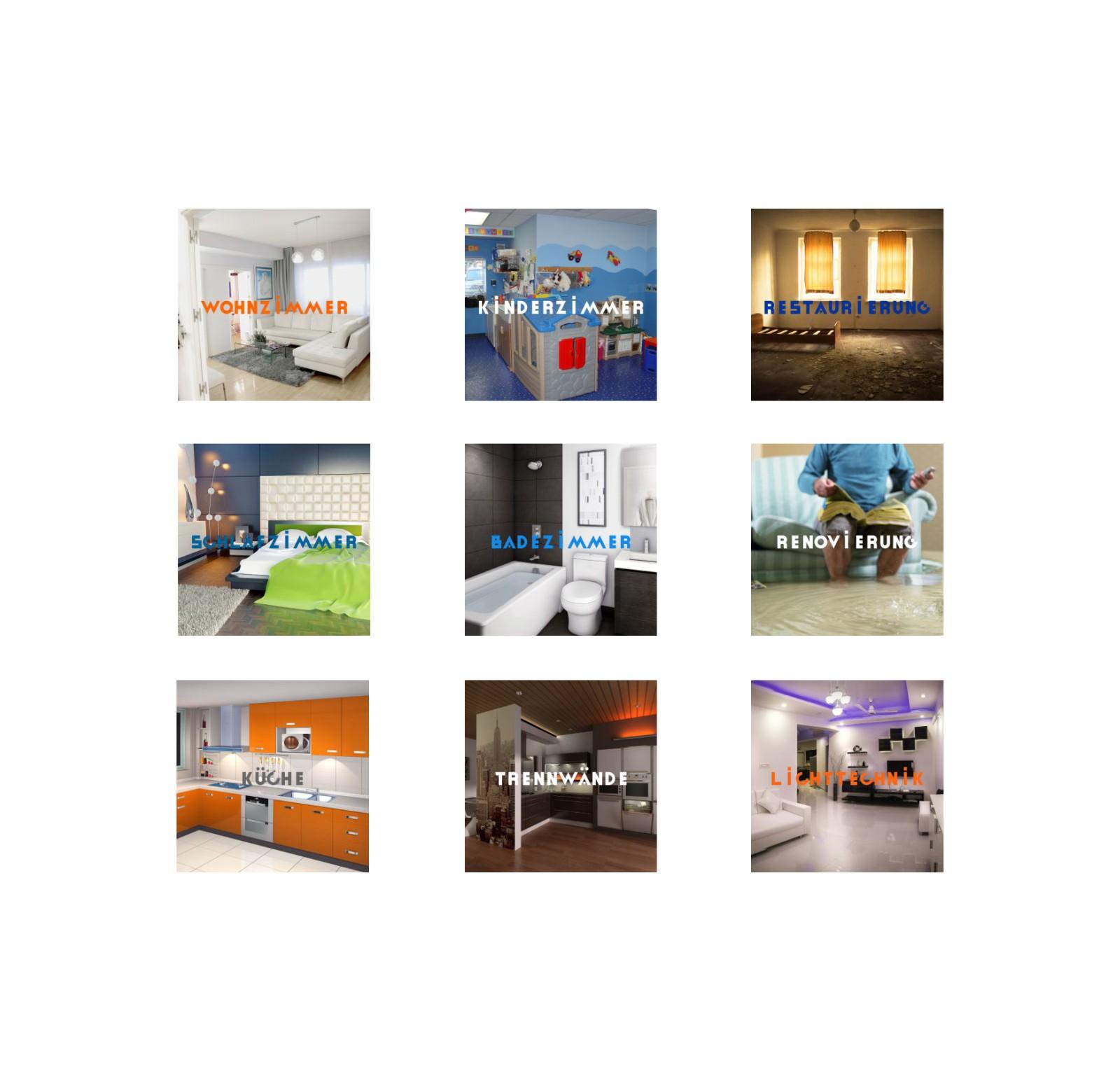O-ZEN Portfolio Pataki Bau Verschiedene Zimmer und Innenausbau Leistungen